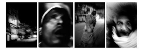 Portraits de personnages et de bâtiment du quartier des crémations.